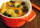 Warm Dessert – Croissant Honey Pudding